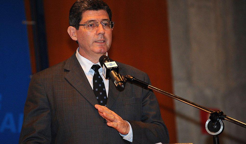 Brasília- DF- Brasil- 09/03/2015- Ministro da Fazenda, Joaquim Levy, participa da cerimônia de abertura da 2a Semana Nacional de Educação Financeira do Sebrae. (Fabio Rodrigues Pozzebom/Agência Brasil)