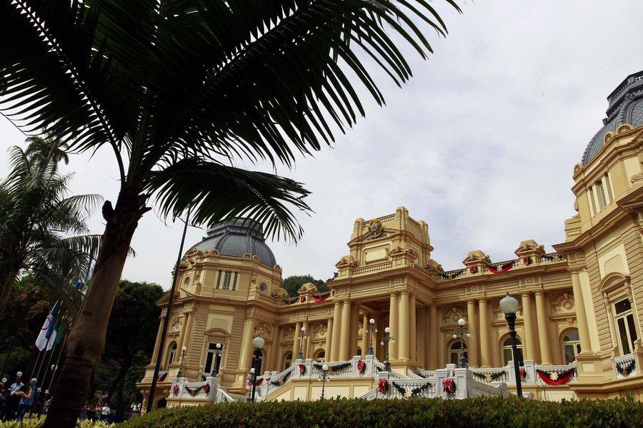 14/12/2011; Rio de Janeiro; Visita da Imprensa ao Palácio Guanabara; Fotos: Carlos Magno