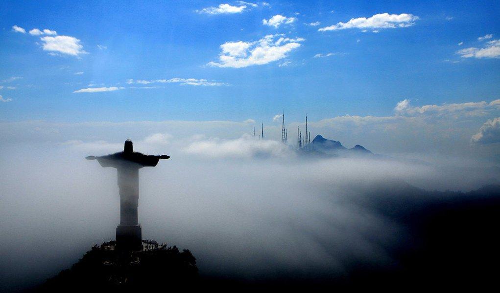 Cristo Redentor na Cidade do Rio de Janeiro. Foto: Shana Reis