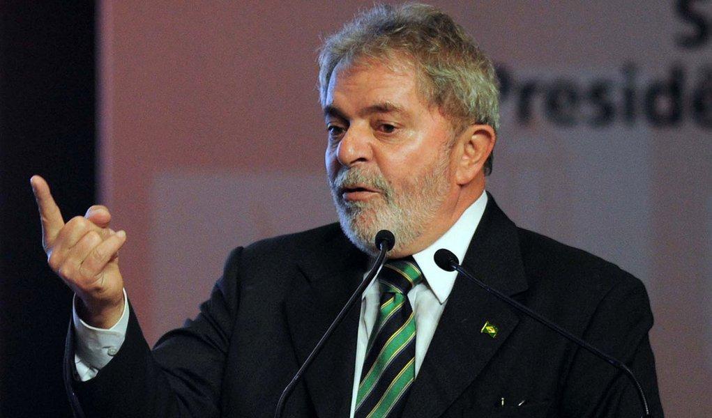 Brasília - Presidente Lula discursa durante premiação da 3ª edição do Prêmio ODM