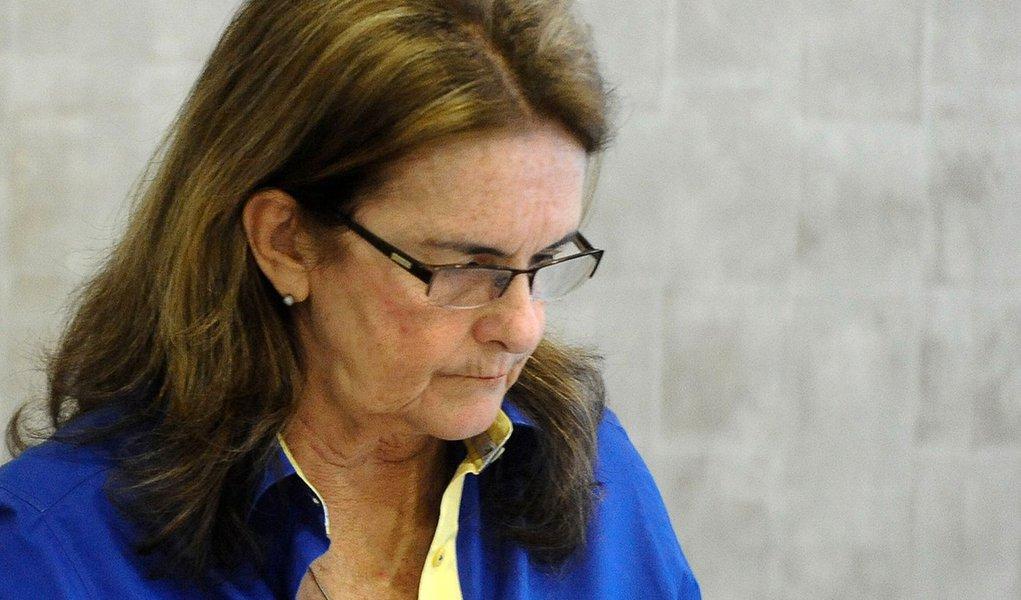 Rio de Janeiro- RJ- Brasil- 17/12/2014- A presidenta da Petrobras, Graça Foster, afirmou na manhã desta quinta-feira 17, durante café da manhã com jornalistas, que põe cargo à disposição de Dilma. (Tomaz Silva/Agência Brasil)