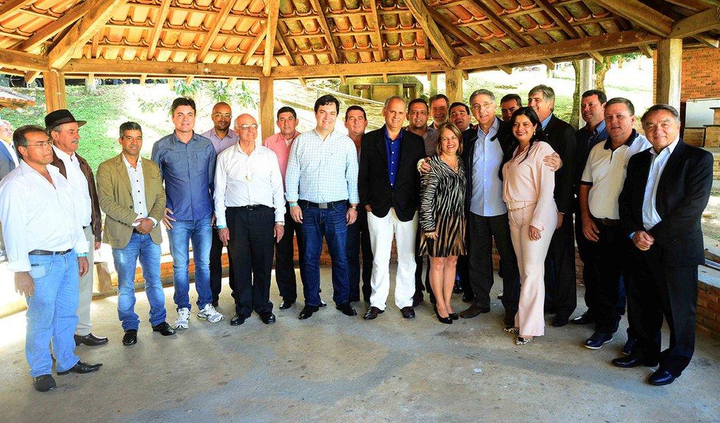 Foruns de Minas/ Manhuaçu MG . Governador Pimentel. Data 15/08/2015 Credito : Reporter Fotografico Marcelo Sant Anna