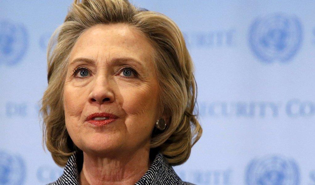 Foto de arquivo da ex-secretária de Estado dos EUA Hillary Clinton em Nova York. 10/03/2015 REUTERS/Mike Segar