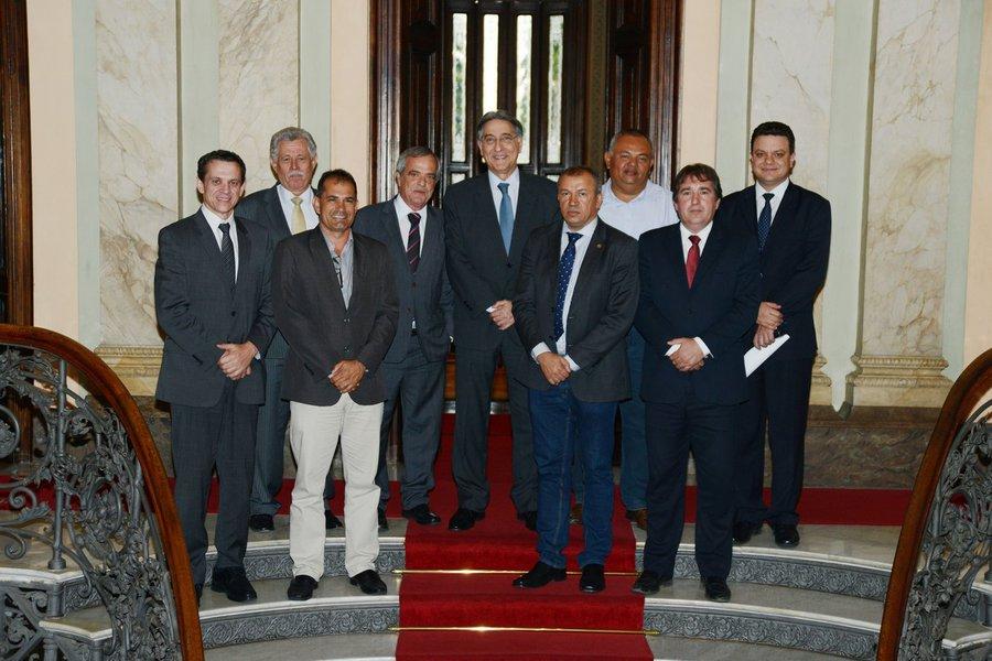 governador Fernando Pimentel se reune com prefeitos do Norte de Minas. 06-08-2015- Palácio da Liberdade Foto: Manoel Marques/imprensa-MG