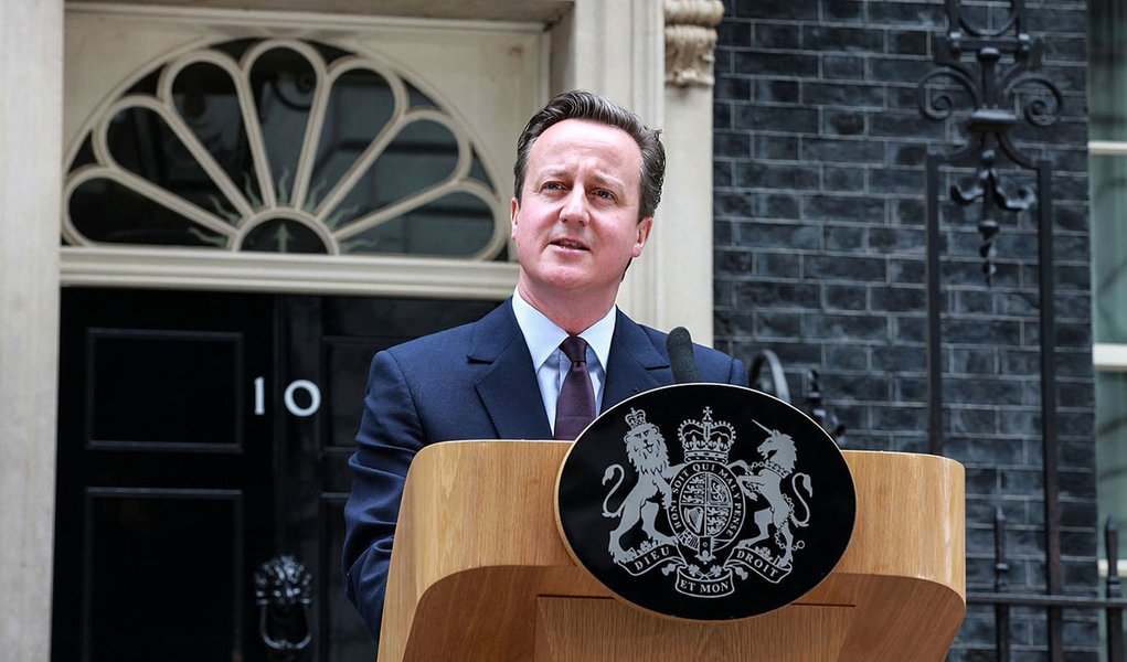 London- UK- 10/05/2015- Following the results of the 2015 general election, the Prime Minister David Cameron made a speech outside Downing Street. Photo: Robert Thom/ The Prime Minister's Office