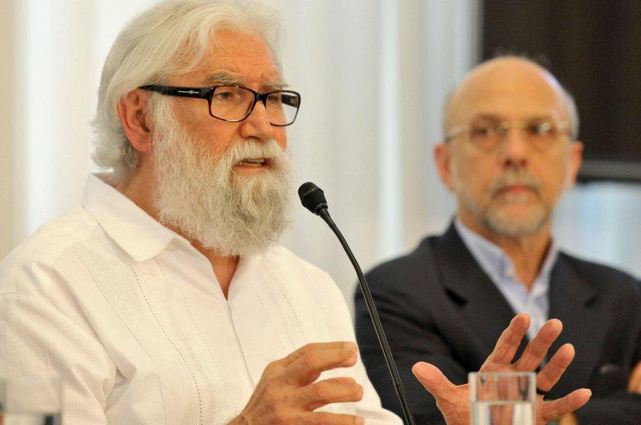 Leonardo Boff (te�logo, escritor e professor universit�rio), C�sar Cristiano de Lima (subsecret�rio de gest�o da Estrat�gica Governamental da Secretaria de Estado de Planejamento e Gest�o)