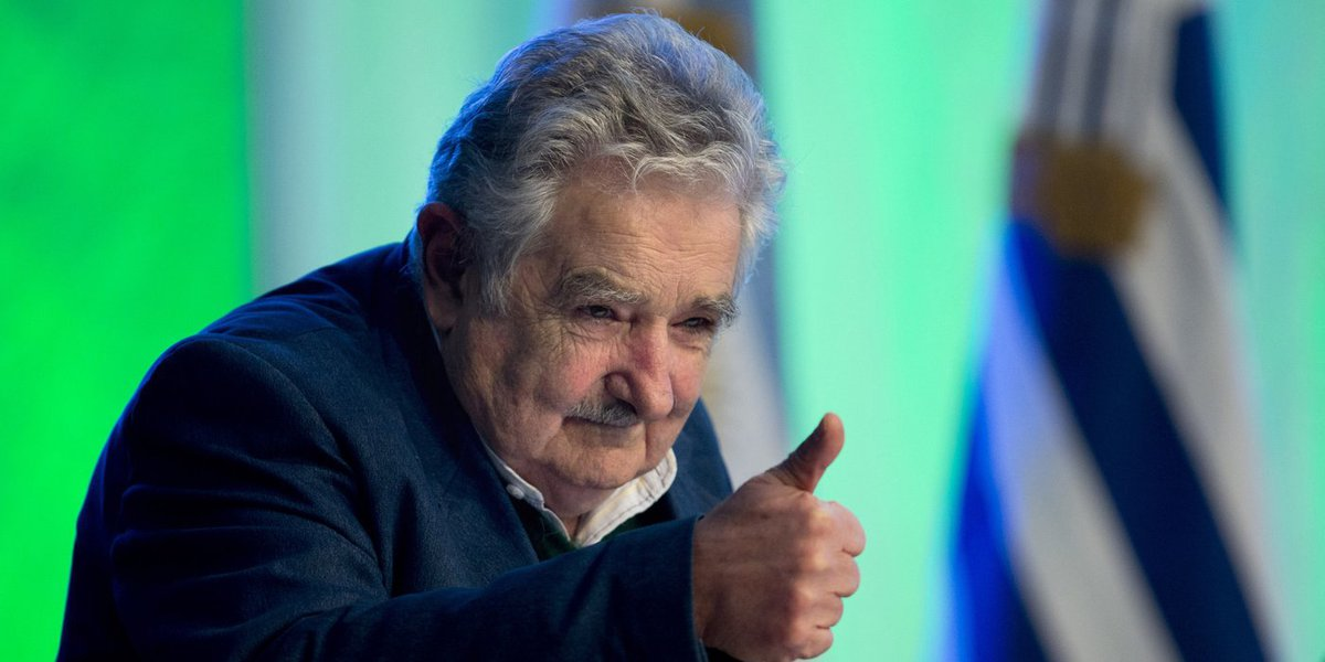 Uruguay's President Jose Mujica  speaks during a ceremony to launch a new catamaran ferry between Montevideo and Buenos Aires in Buenos Aires, Argentina,  Monday, Sept. 30, 2013. The ferry that will begin operating Oct. 2 and will cut the travel time betw