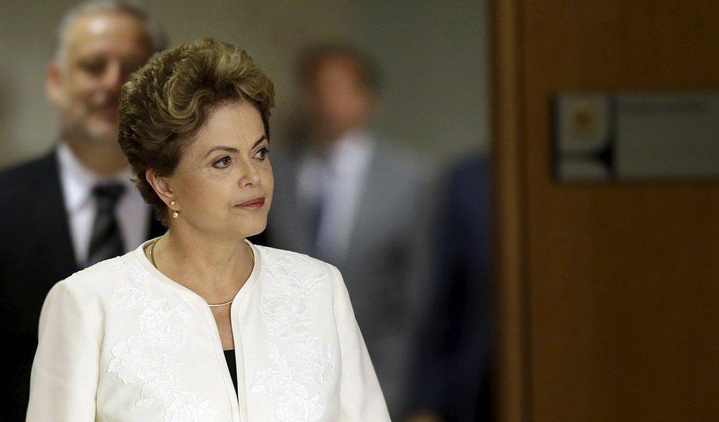 Presidente Dilma Rousseff no Palácio do Planalto, em Brasília. 02/12/2015 REUTERS/Ueslei Marcelino