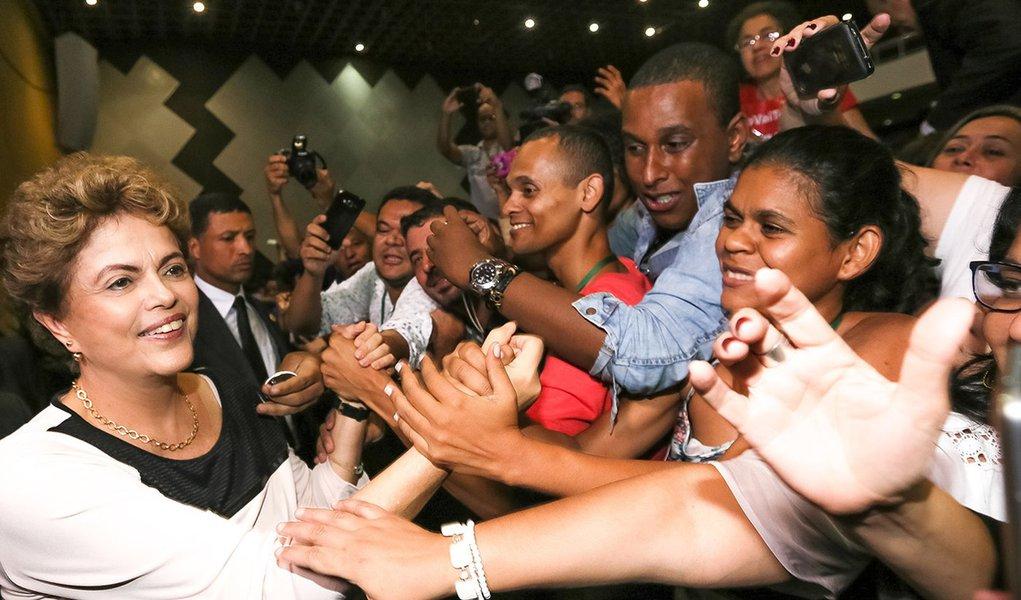 Brasília - DF, 07/12/2015. Presidenta Dilma Rousseff durante Cerimônia de abertura da X Conferência Nacional de Assistência Social. Foto: Roberto Stuckert Filho/PR