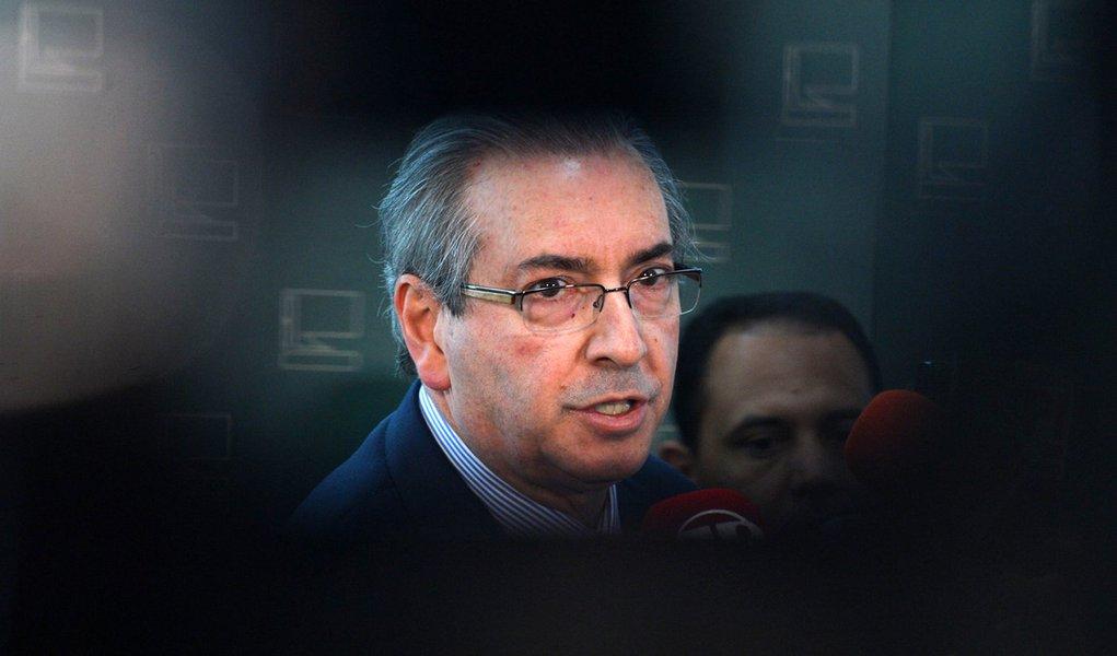 Bras�lia - Entrevista com o presidente da C�mara dos Deputados Eduardo Cunha, que fala sobre o Impeachment da presidenta Dilma (Antonio Cruz/Ag�ncia Brasil)
