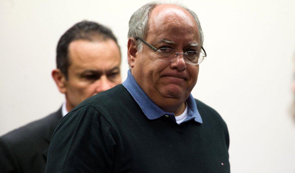 Brasília- DF- Brasil- 19/03/2015- Ex-diretor da Petrobras Renato Duque presta depoimento em CPI na Câmara dos Deputados (Fabio Rodrigues Pozzebom/Agência Brasil)