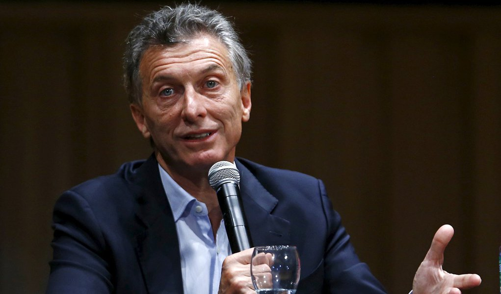 Presidente eleito da Argentina Mauricio Macri dá entrevista coletiva em Buenos Aires. 23/11/2015 REUTERS/Enrique Marcarian