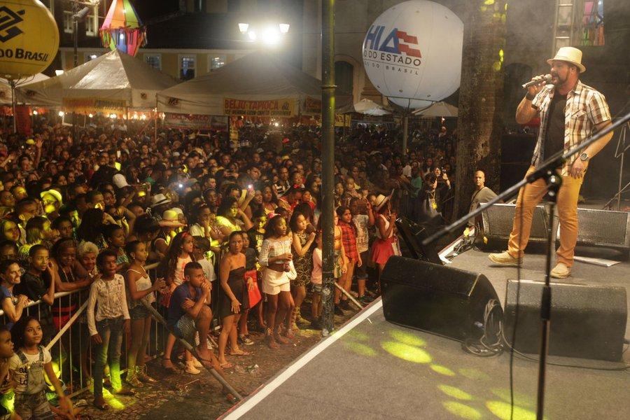 S�o Jo�o no Pel� Terreiro de Jesus Show da Banda Estakazero Foto: El�i Corr�a/GOVBA