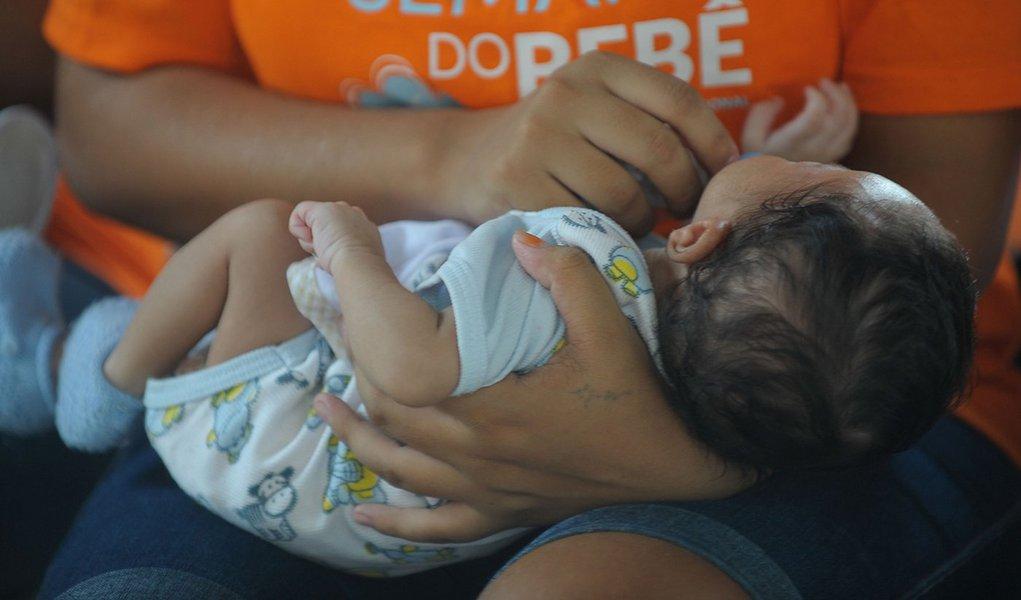 Rio de Janeiro - Unidade Materno Infantil, do Complexo Penitenciário de Bangu, que recebe mulheres privadas da liberdade acompanhadas de seus bebês, desde o nascimento até 1 ano de idade(Tânia Rêgo/Agência Brasil)