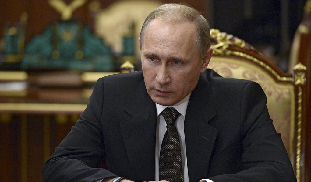 Presidente da Rússia, Vladimir Putin, durante encontro em Moscou. 17/11/2015 REUTERS/Alexei Nikolskyi/SPUTNIK/Kremlin