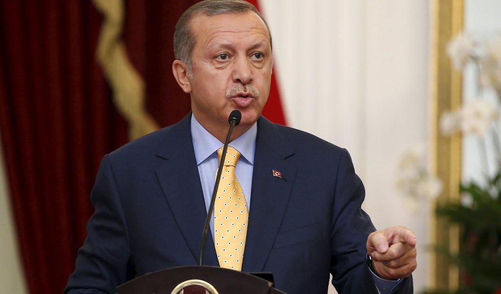Presidente da Turquia, Tayyip Erdogan. 31/07/2015 REUTERS/Darren Whiteside