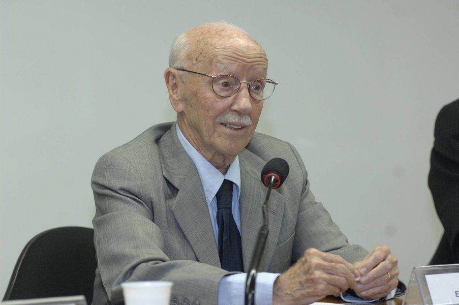 Comiss�o de Direitos Humanos Inaugura��o da Galeria dos Ex-Presidentes H�lio Bicudo, ex-presidente da Comiss�o Foto: Luiz Alves 02.09.09