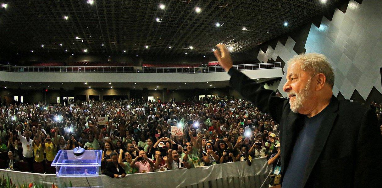 05/11/2015 - O ex- Presidente Luiz Inácio Lula da Silva participa da 5º Conferência Nacional de Segurança Alimentar e Nutricional. Foto: Ricardo Stuckert/ Instituto Lula