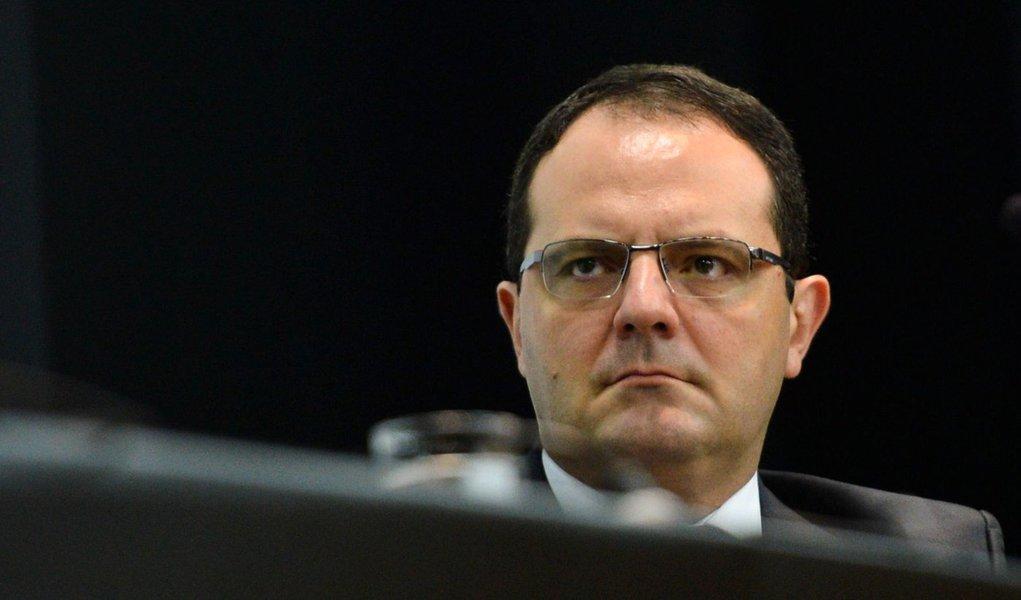 Brasília - O ministro Nelson Barbosa na solenidade de transmissão de cargo ao novo ministro do Planejamento, Valdir Simão (Antonio Cruz/Agência Brasil)