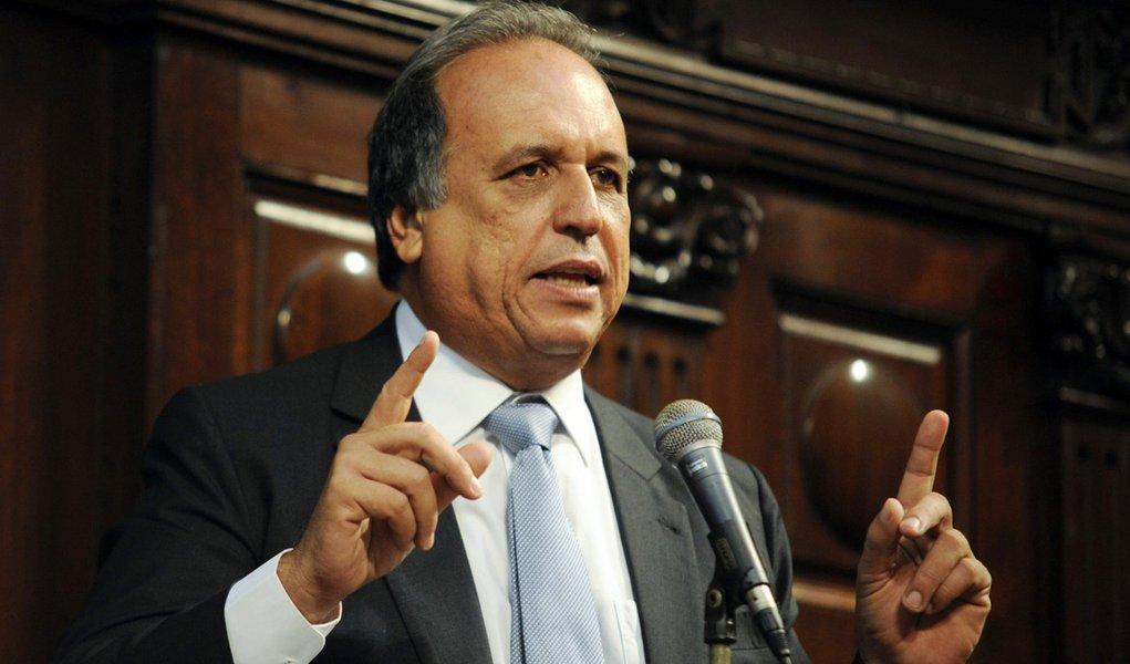 30-06-2014 - Rio de Janeiro - Posse de Luiz Fernando Pezão como governador do Rio. Pezão assume no lugar de Sérgio Cabral (Tomaz Silva/Agência Brasil)