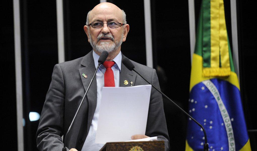 Plenário do Senado Federal durante sessão deliberativa extraordinária. Em discurso, senador Donizeti Nogueira (PT-TO). Foto: Jefferson Rudy/Agência Senado