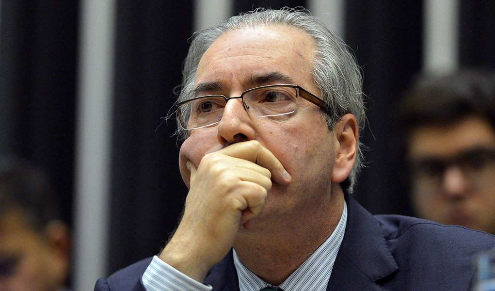 Brasília - Presidente da Câmara, Eduardo Cunha durante sessão extraordinária para discussão e votação de diversos projetos (Antonio Cruz/Agência Brasil)