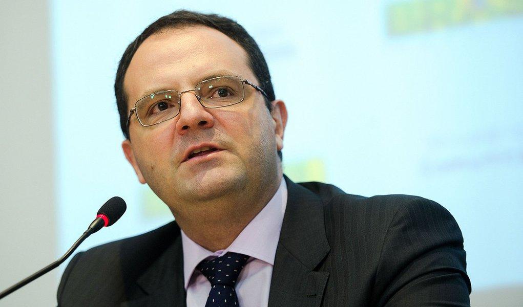 Brasília - O ministro do Planejamento, Nelson Barbosa, durante o lançamento da Consulta Pública para debater a revisão do modelo de prestação de serviços de telecomunicações (Marcelo Camargo/Agência Brasil)