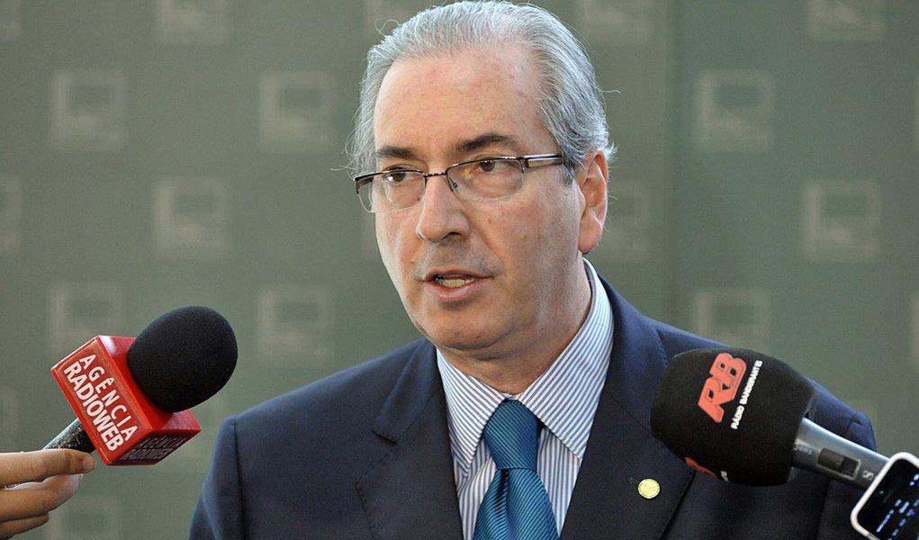 Brasília- DF- Brasil- 27/08/2015- Presidente da Câmara, dep. Eduardo Cunha (PMDB-RJ) concede entrevista. Foto: Alex Ferreira/ Câmara dos Deputados