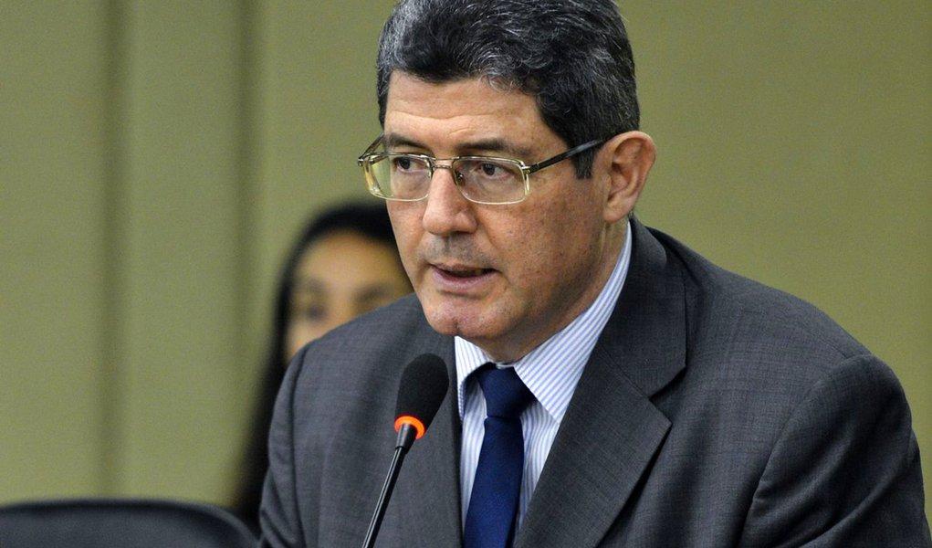 O ministro da Fazenda, Joaquim Levy, participa do Semin�rio OCDE, Organiza��o para a Coopera��o e Desenvolvimento Econ�mico (Antonio Cruz/Ag�ncia Brasil)