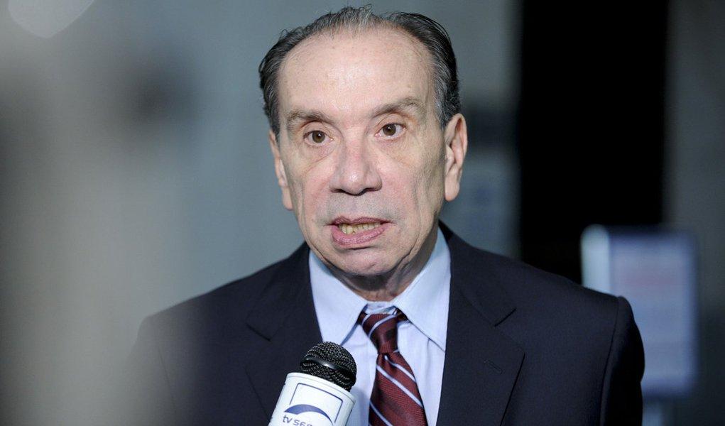 Senador Aloysio Nunes (PSDB-SP) concede entrevista no Senado Federal. Foto: Marcos Oliveira/Agência Senado