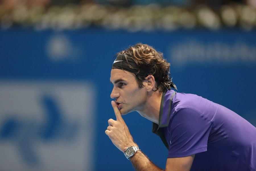 Sao Paulo 06/12/2012 Tenista Roger Federer. Foto Paulo Pinto/Fotos Publicas