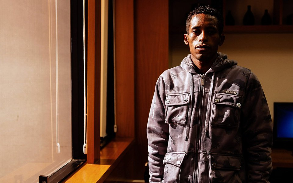 Rafael Braga Vieira, arrested on June 21 last year, during a demonstration at Avenida Presidente Vargas in Rio de Janeiro.