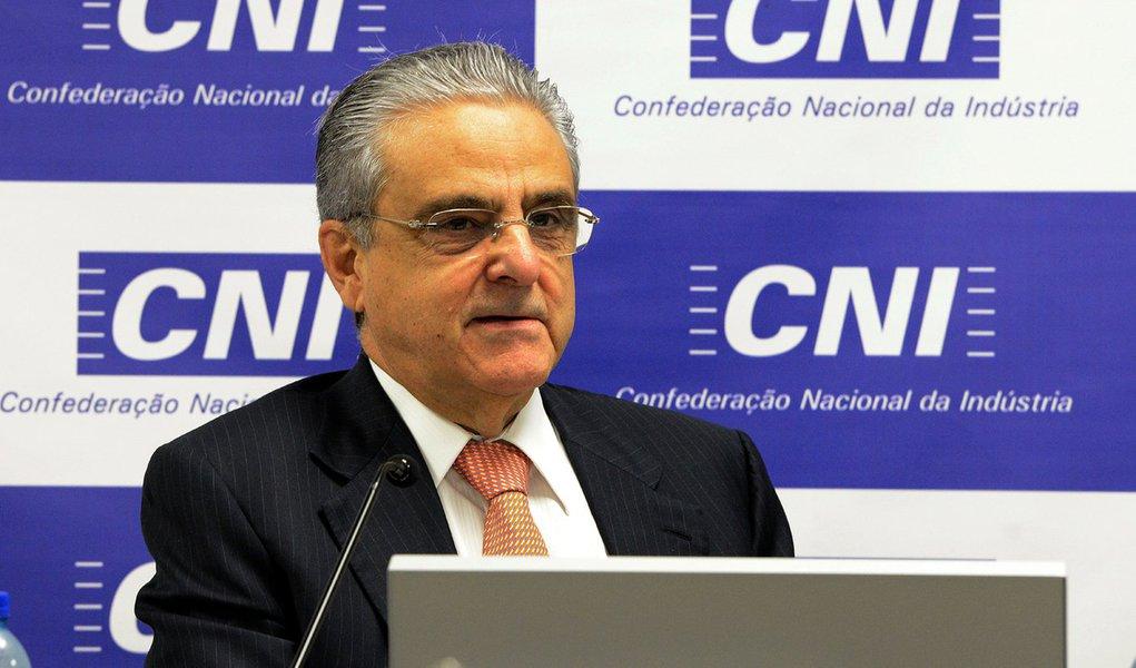 Coletiva com a Imprensa da Presidência da CNI, Robson braga de Andrade. Brasília (DF) 16.12.2015 - Foto Miguel Ângelo