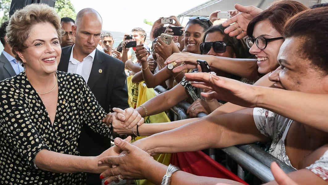 Congonhas - MG, 15/12/2015. Presidenta Dilma Rousseff durante cerimônia de inauguração do Museu de Congonhas. Foto: Roberto Stuckert Filho/PR