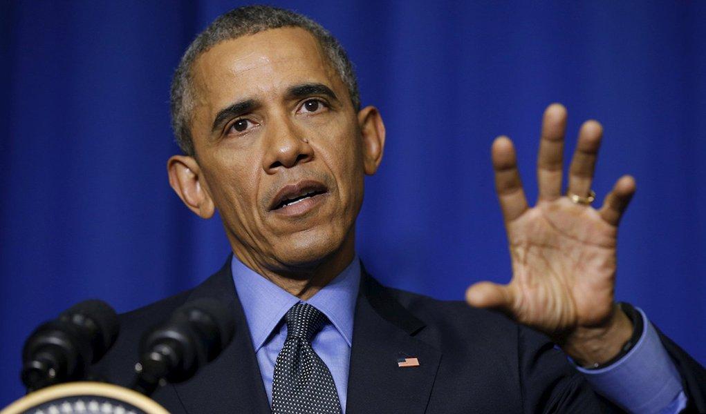 Presidente dos Estados Unidos, Barack Obama, durante evento em Paris. 01/12/2015 REUTERS/Kevin Lamarque