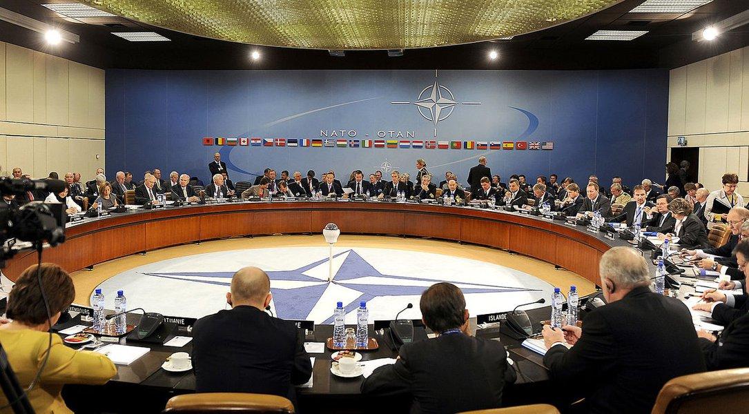 Otan - reunião de ministros de defesa e de relações exteriores