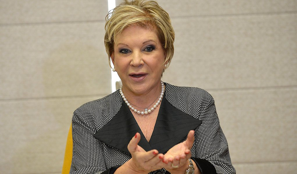 A ministra da Cultura, Marta Suplicy lança editais destinados à internacionalização da cultura brasileira. O programa, denominado Conexão Cultura Brasil(Elza Fiúza / Agência Brasil)