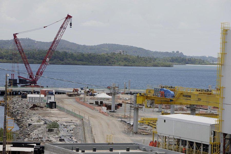 Enseada Ind�stria Naval inicia opera��o da atividades na constru��o de Navios, movimentando a economia do rec�ncavo baiano.  Na foto: Marcelo Gentil/ Gerente de Comunica��o