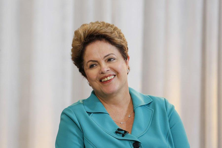 Brasília - DF, 27/10/2014. Presidenta Dilma Rousseff durante entrevista para o Jornal da Record. Foto: Roberto Stuckert Filho/PR