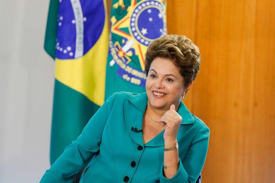 Brasília - DF, 09/07/2014. Presidenta Dilma Rousseff durante entrevista para a rede de TV CNN. Foto: Roberto Stuckert Filho/PR