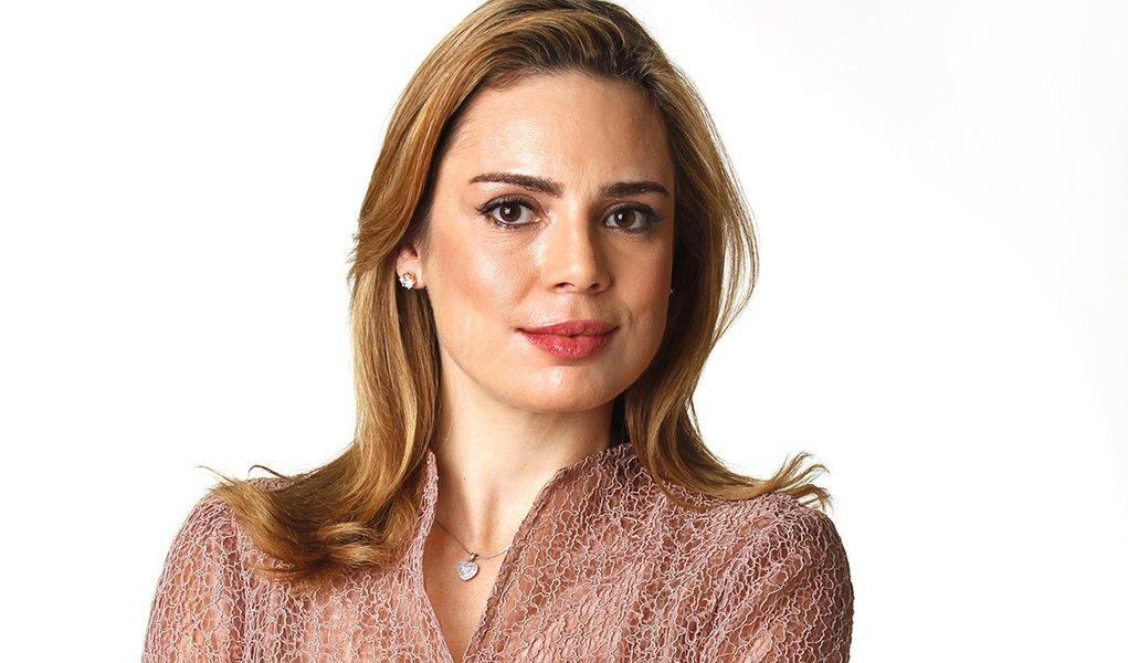 "Data da foto: 2013 Rachel Sheherazade, âncora do programa ""SBT Brasil"", do SBT."