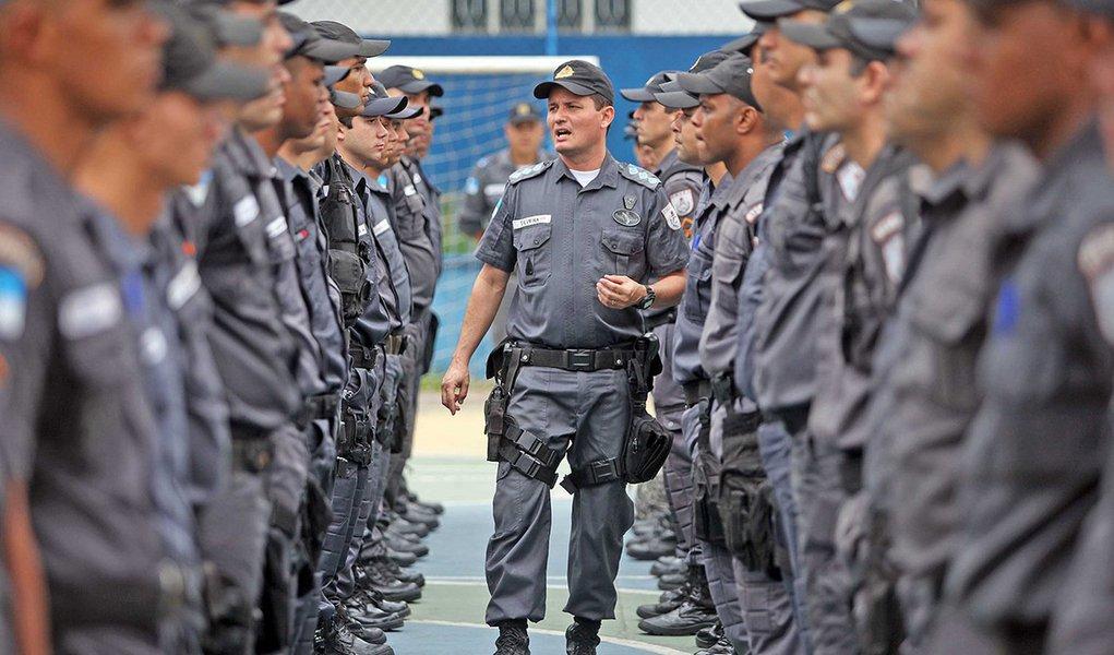 05/082013 - Mangueirinha, em Caxias, recebe efetivo permanente de 180 policiais militares. Foto Marcelo Horn