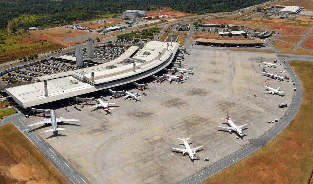 Aeroporto Internacional Presidente Tancredo Neves/ Confins.  Data: 14-02-2011 Crédito: Lúcia Sebe/Secom MG