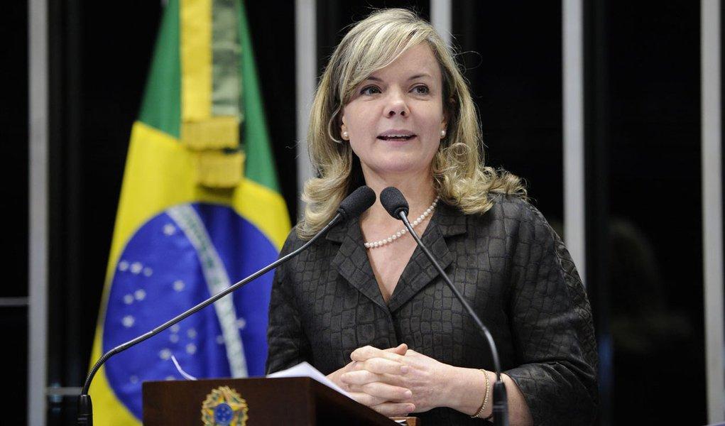 Senadora Gleisi Hoffmann (PT-PR) destaca contribuição do PT para o Plano Real
