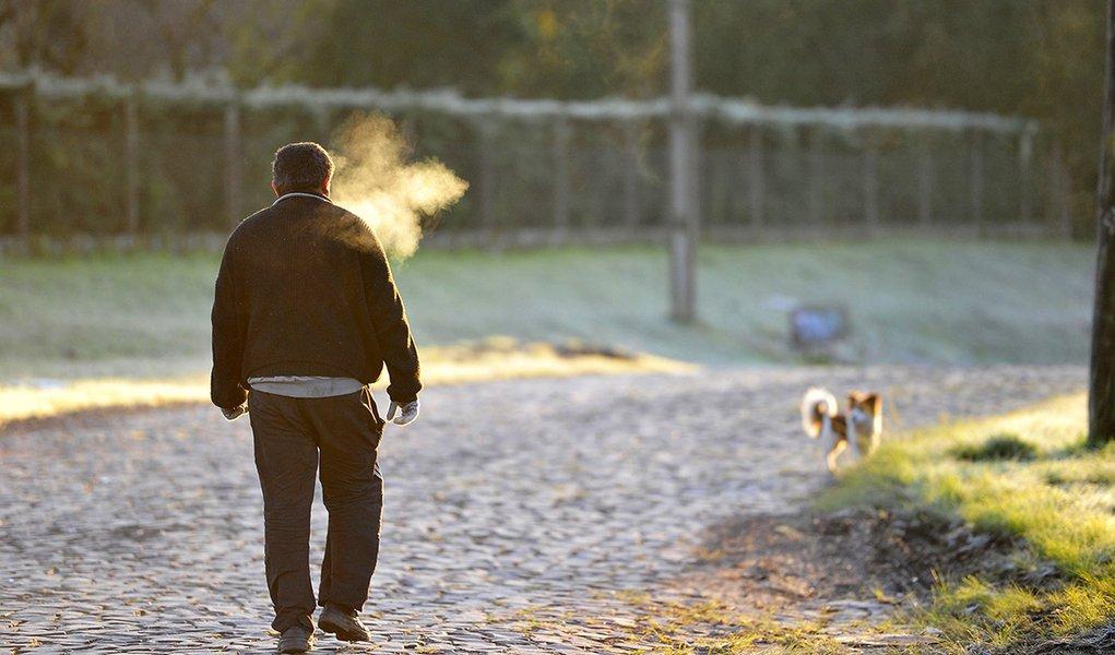 Rio Grande do Sul registra 1ª morte por causa do frio