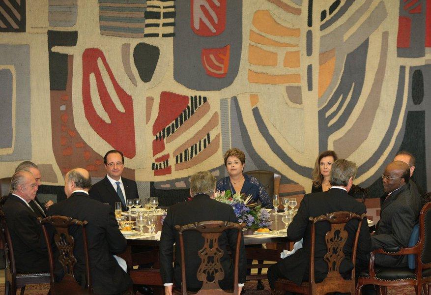 Dilma e François Hollande