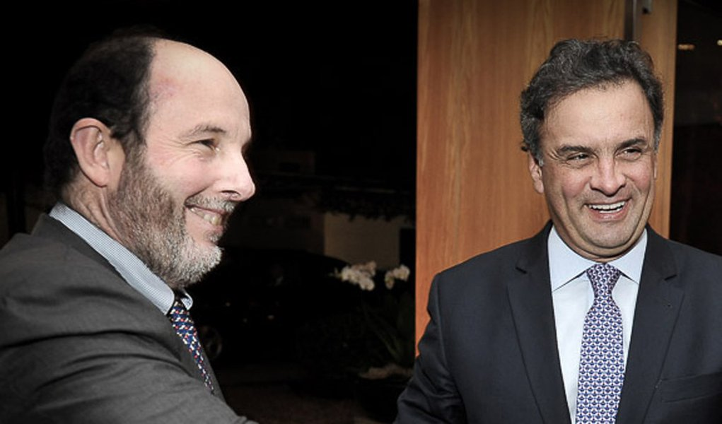 Arminio Fraga e Aécio Neves com João Doria Jr.