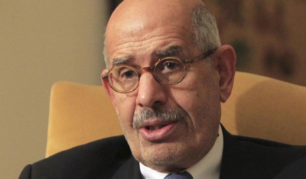 El Baradei assume como vice no Egito