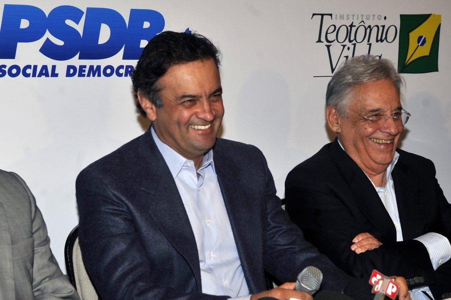 Bras�lia - O ex-presidente Fernando Henrique Cardoso participa de evento que reuniu os prefeitos eleitos do PSDB