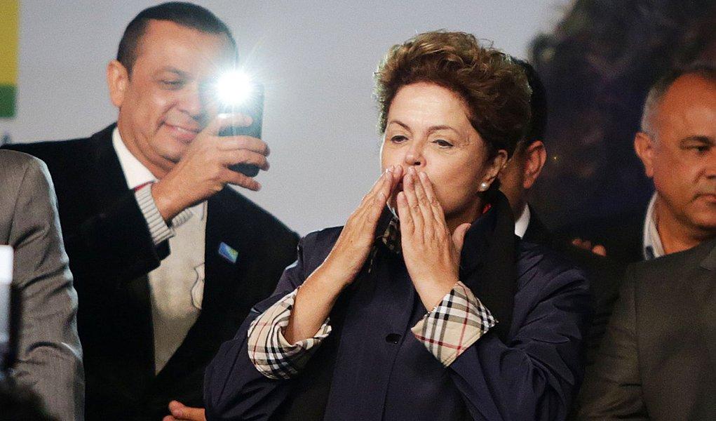 São Bernardo 28/05/2014 Presidenta Dilma Rousseff durante inauguração do CEO . Foto Paulo Pinto/Fotos Públicas